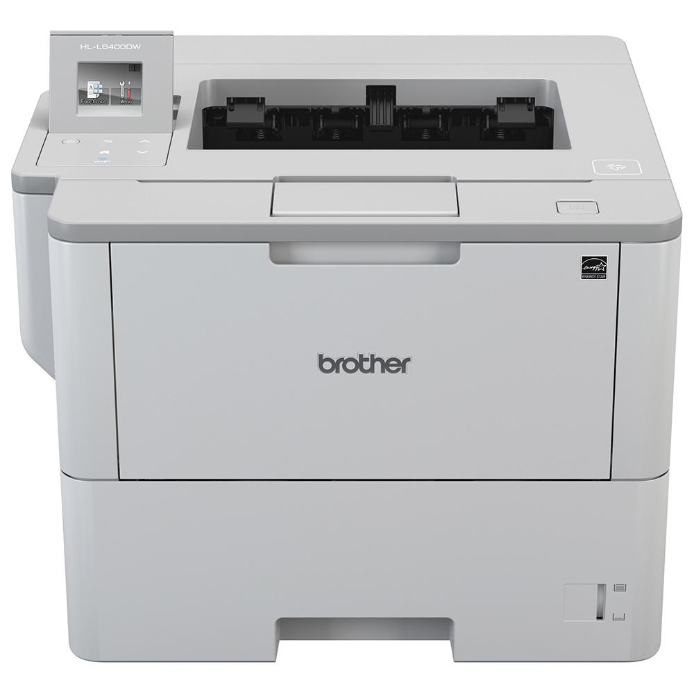 Impressora Convencional Brother Hl-l6402dw Laser Monocromática Usb, Ethernet e Wi-fi 110v